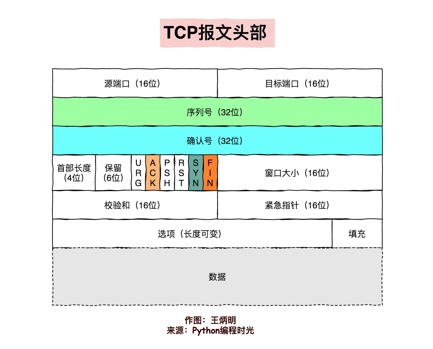 TCP 报文首部