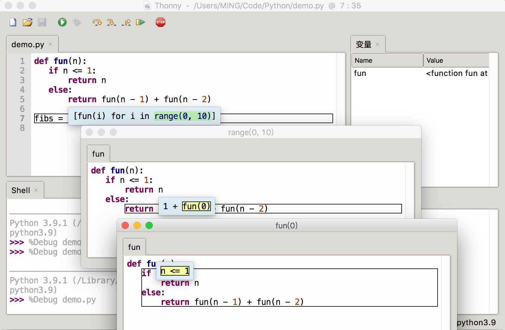 卸载 PyCharm!Thonny 才是最适合 Python 小白的 IDE插图(12)