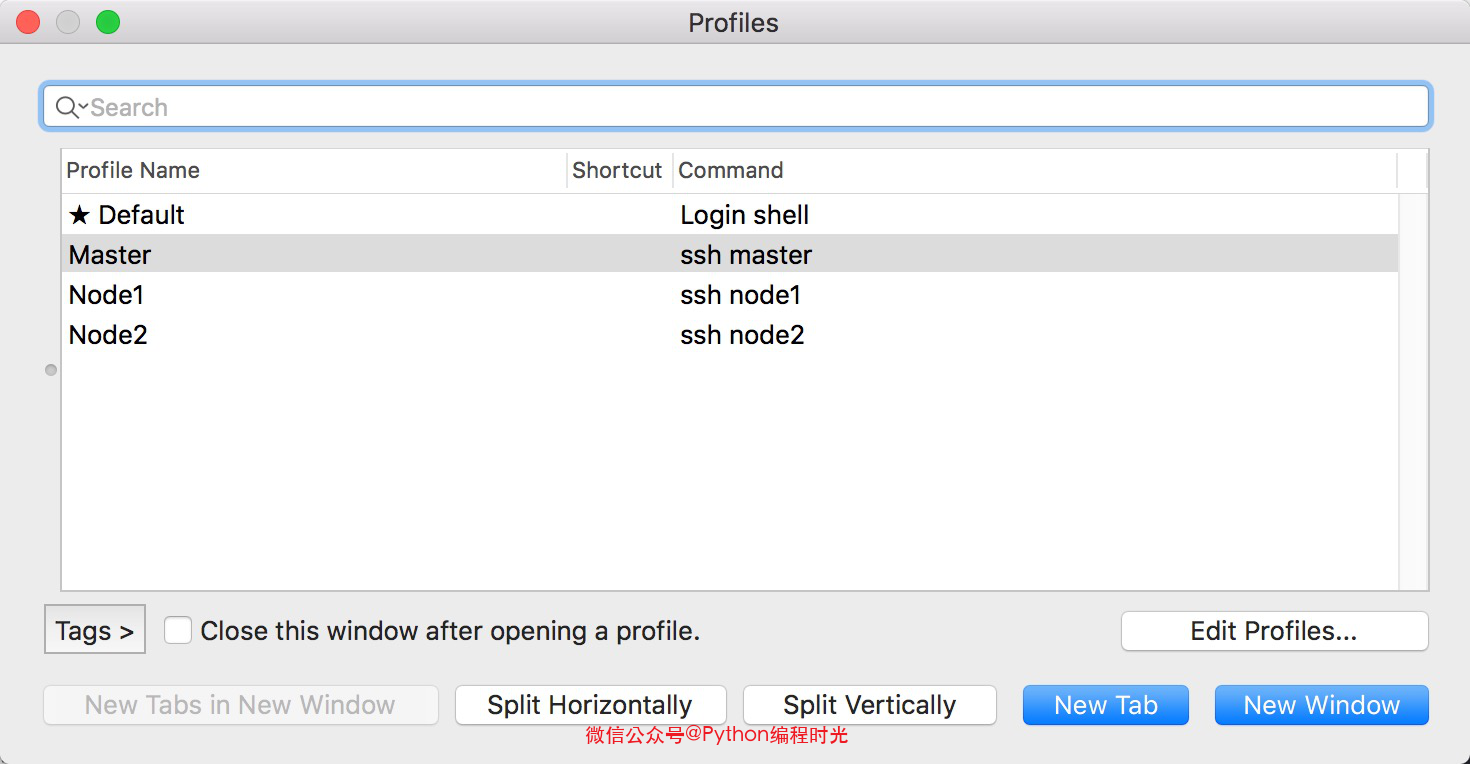 iTerm2 上管理 ssh 窗口插图(3)