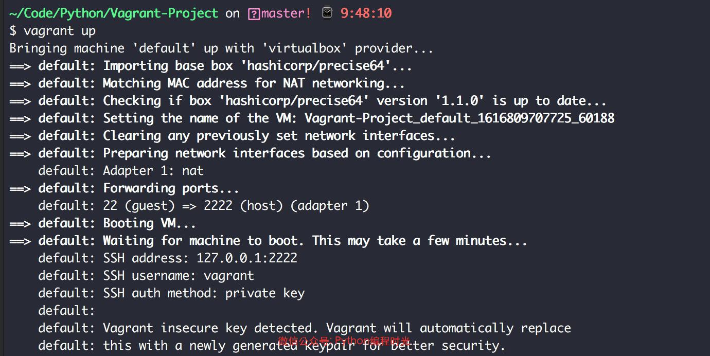 在 PyCharm 中使用 Vagrant 搭建一劳永逸的开发环境插图(1)