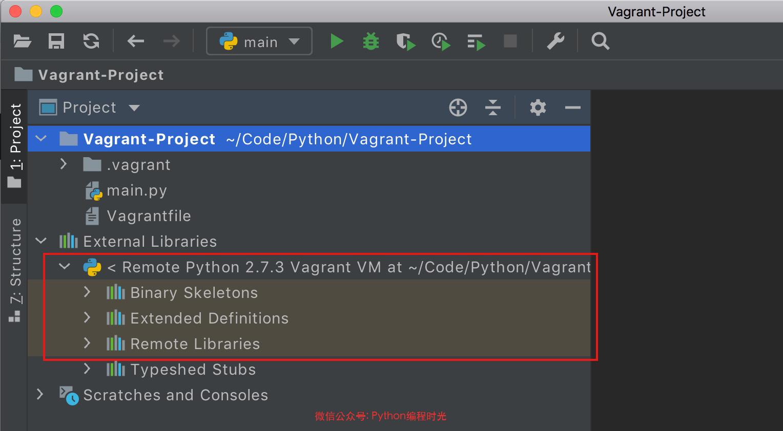 在 PyCharm 中使用 Vagrant 搭建一劳永逸的开发环境插图(7)