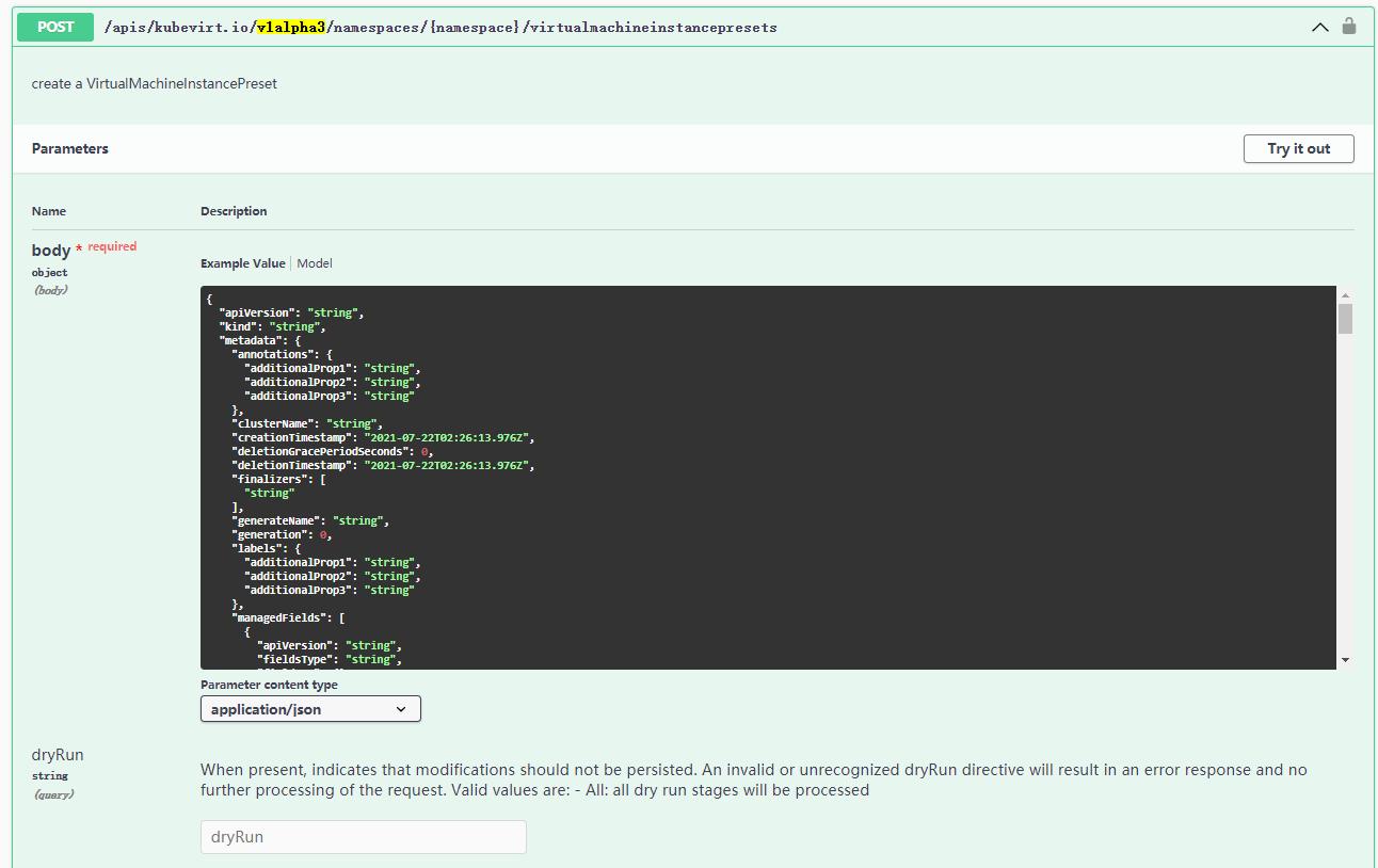 使用 swagger-ui 可视化 Kubernetes API 文档插图(1)