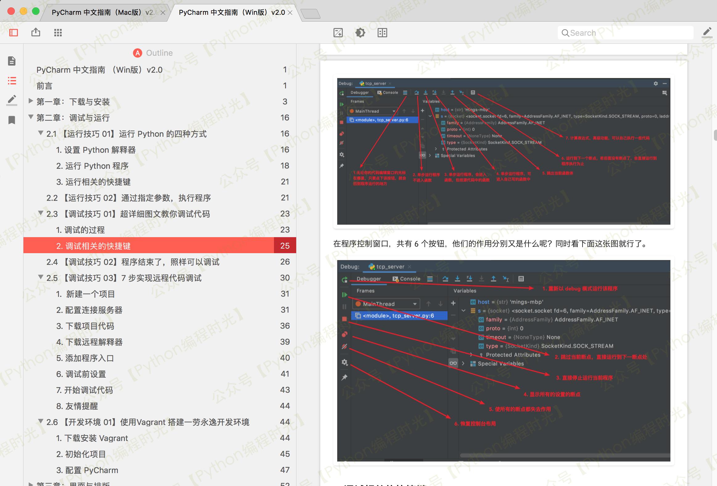 来了,《PyCharm中文指南》 v2.0 版本插图(4)
